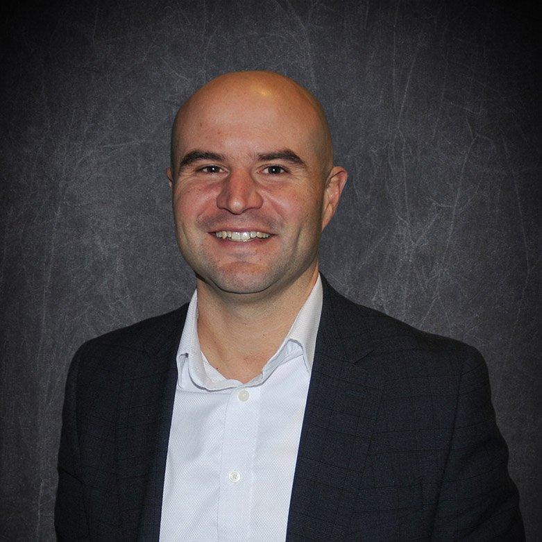 Andy Oakes with Okanagan Hockey Community Foundation