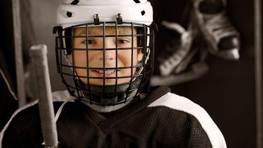 Okanagan Hockey Community Foundation Young Hockey Player